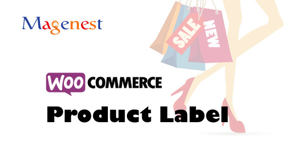 Woocommerce product label