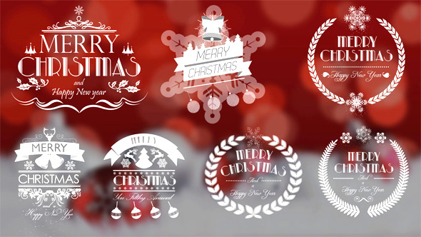 50 Elements of Christmas Labels