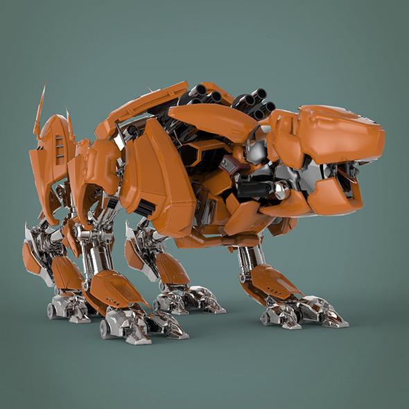 3DOcean Fantastic robot 9690278