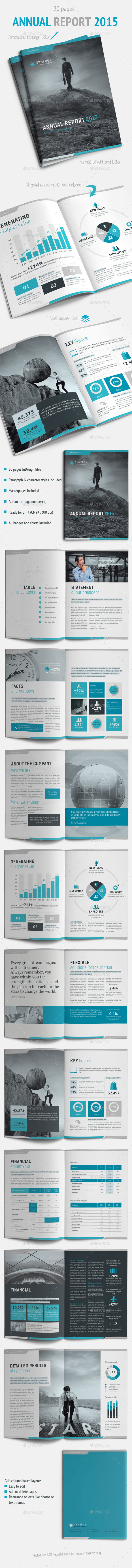 GraphicRiver Annual Report 2015 9690357