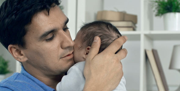 VideoHive Affectionate Father 9691014