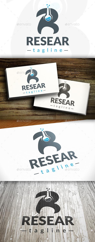 GraphicRiver Research R Letter Logo 9691418