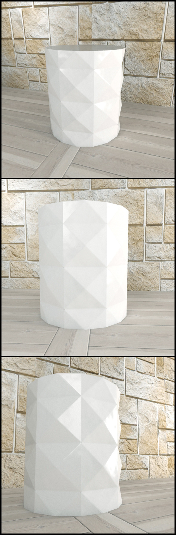 3DOcean Andrew Martin Dipoli Side Table White 9691797