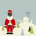 African American Santa Claus - PhotoDune Item for Sale