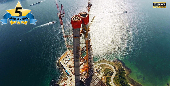 VideoHive Bridge Construction in Istanbul 3 9669078