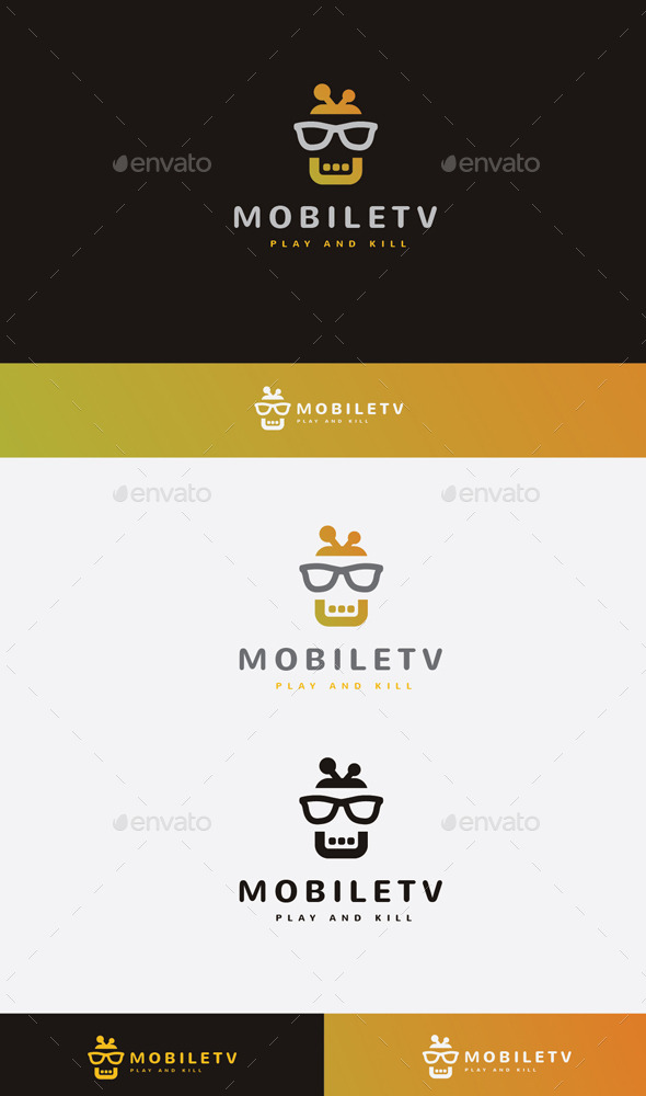 GraphicRiver Mobile Tv Logo 9692359