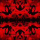 Red and black kaleidoscope graffiti - PhotoDune Item for Sale