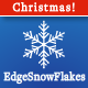 EdgeSnowFlakes: Personalized Animated Holiday Card
