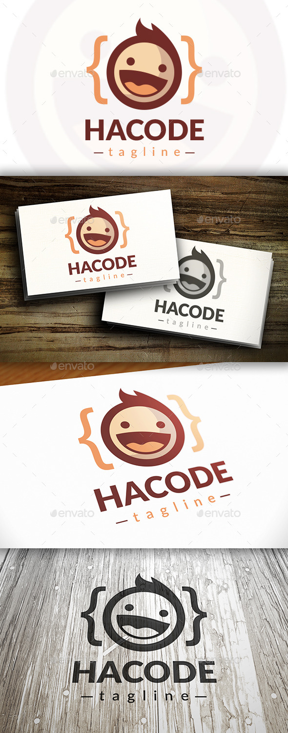 GraphicRiver Geek Code Logo 9692706