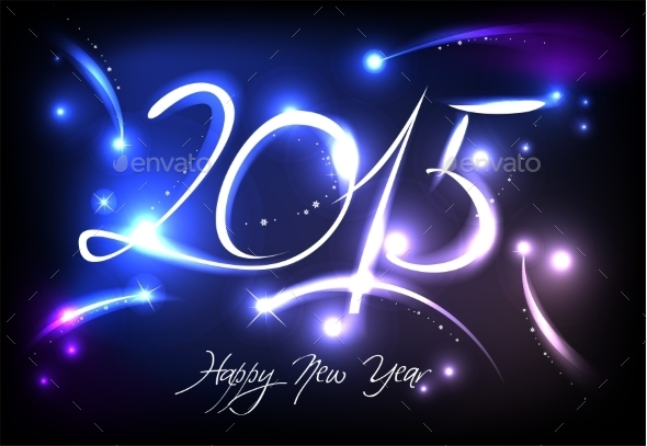 GraphicRiver New Year Background 9692772