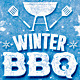 Winter BBQ Party - GraphicRiver Item for Sale