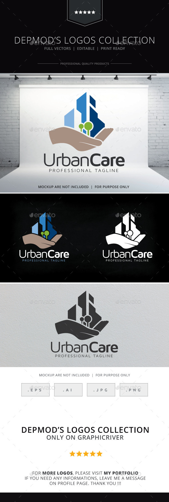GraphicRiver Urban Care Logo 9693108