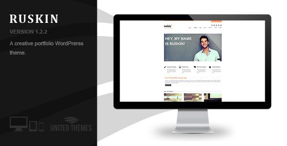 Ruskin - Responsive WordPress Theme - Portfolio Creative