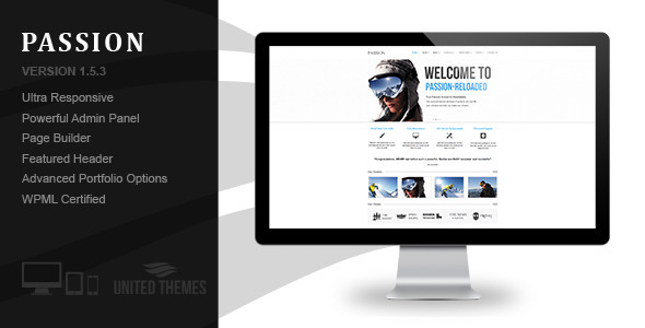 Passion Reloaded - Responsive WordPress Theme - Business Corporate