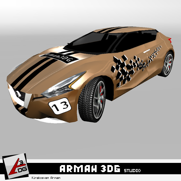 3DOcean Nissan Friend-ME 2013 9693234