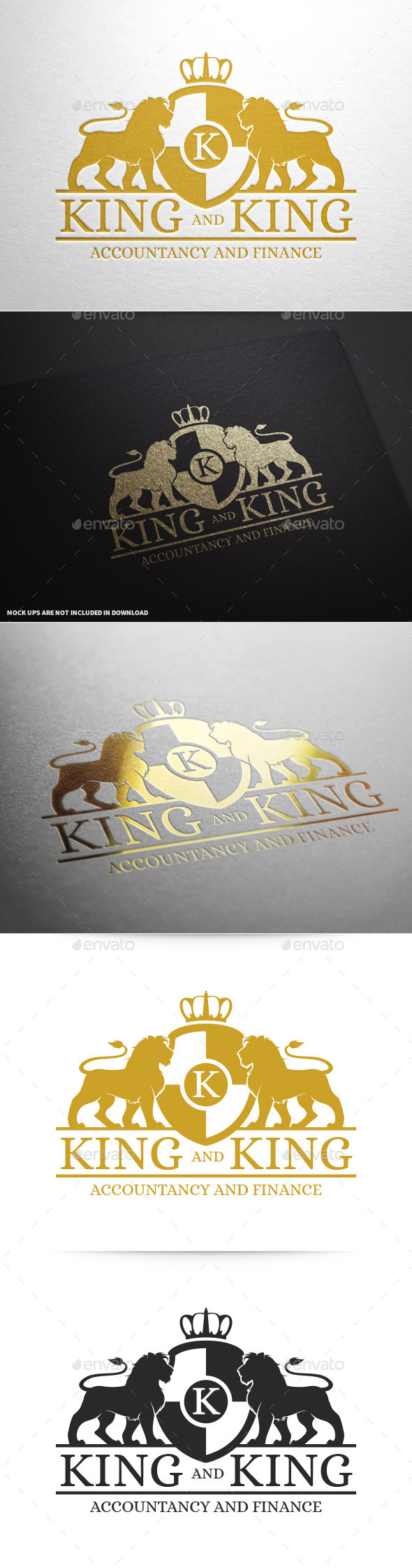 Royal Lion Logo Template v2