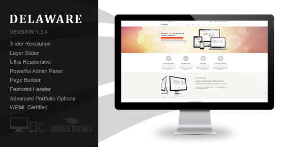 Delaware - Responsive Retina WordPress Theme - Corporate WordPress