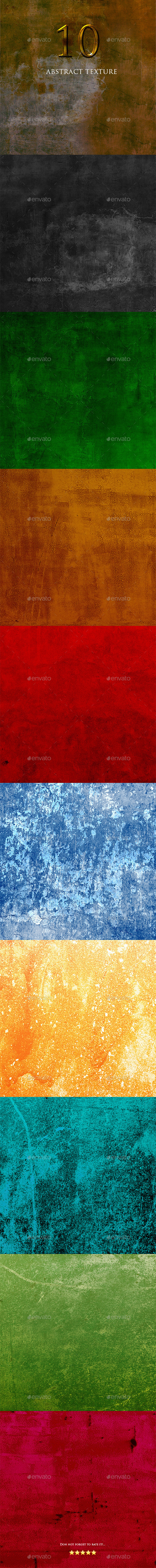 GraphicRiver 10 Texture Abstract 9693243