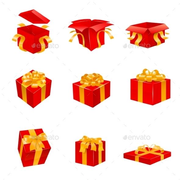 GraphicRiver Gift Set 9693304
