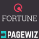 Fortune - PageWiz Mobile App Template - ThemeForest Item for Sale