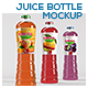 Juice Bottle Mockup - GraphicRiver Item for Sale