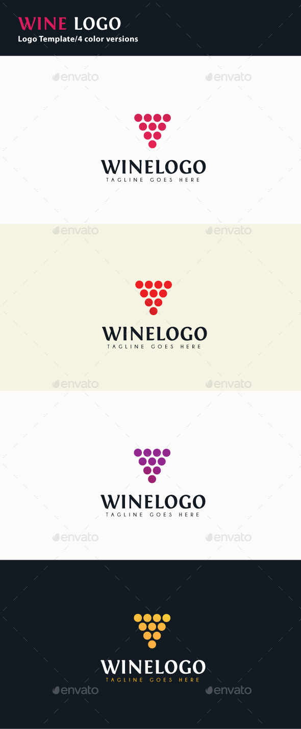 GraphicRiver Wine Logo 9673901