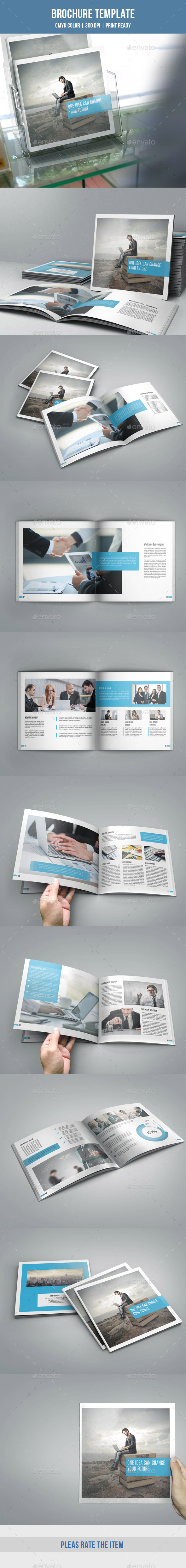 GraphicRiver Square Bifold Business Brochure-V170 9693512