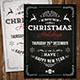 Vintage Christmas Invitation - GraphicRiver Item for Sale