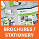 Set of Brochures / Stationery - GraphicRiver Item for Sale
