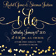 Classy Modern Wedding Invitation - GraphicRiver Item for Sale