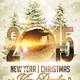 Magic Christmas Flyer + Fb Timeline Template