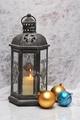 Xmas balls and lantern - PhotoDune Item for Sale