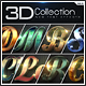 New 3D Collection Text Effects GO.5