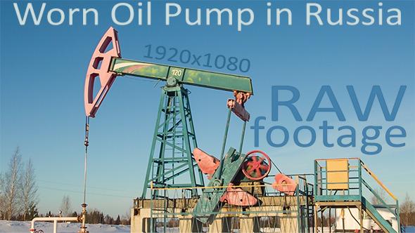 VideoHive Worn Oil Pump in Russia 9694100