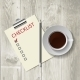 Coffee and Checklist - GraphicRiver Item for Sale