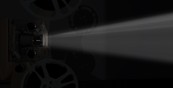 VideoHive Old Movie Projector 9606410