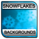Winter Frosted Snowflakes Backgrounds - GraphicRiver Item for Sale