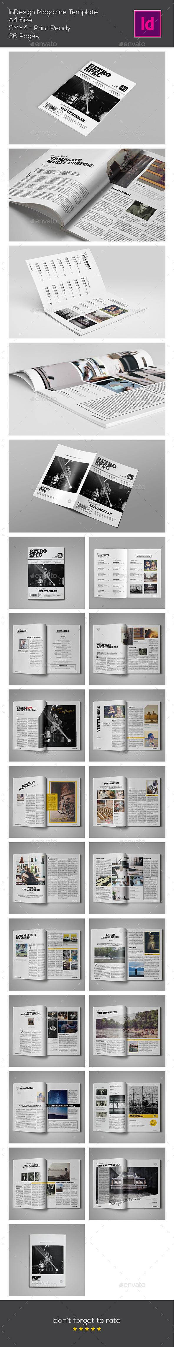 GraphicRiver InDesign Magazine Template 9694359