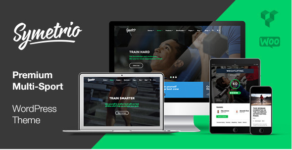 ThemeForest Symetrio Premium Multi-Sport Theme 9634580