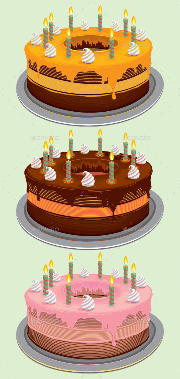 GraphicRiver Birthday Cake 9694576
