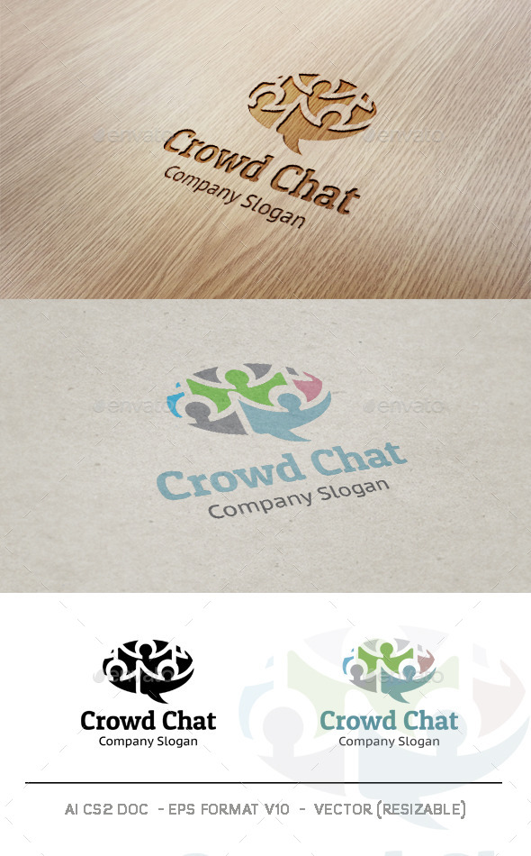Crowd Chat logo