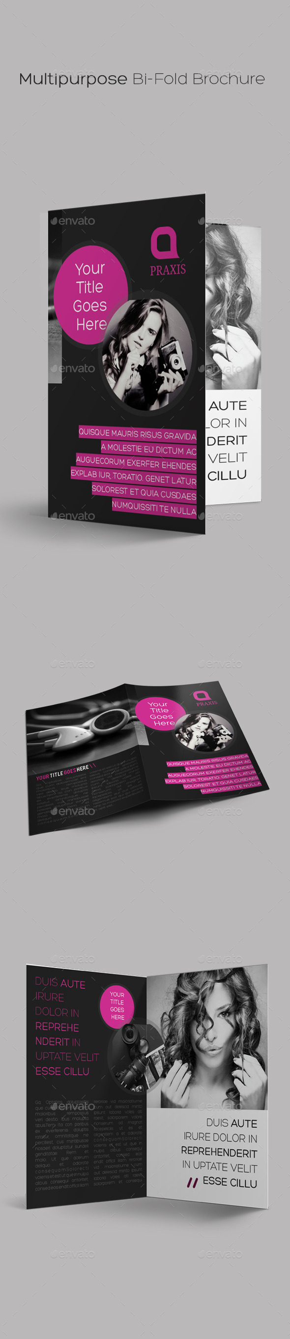 GraphicRiver Multipurpose Bi-Fold Brochure 9694657
