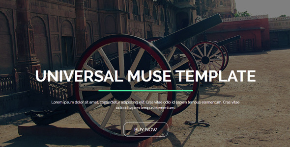 Universal - Creative Muse Template