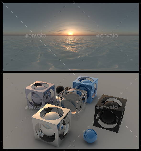 Ocean Dawn HDRI - 3DOcean Item for Sale