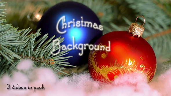 VideoHive Christmas Background 9695026