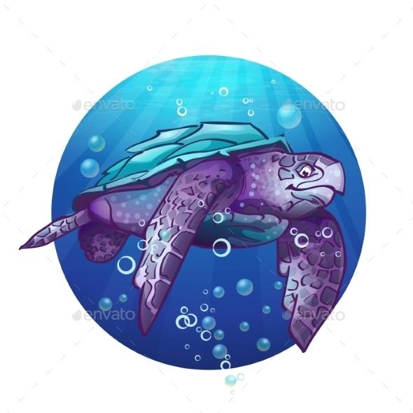 GraphicRiver Turtle 9695057