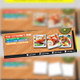 Japanese Resto Twitter Timeline - GraphicRiver Item for Sale