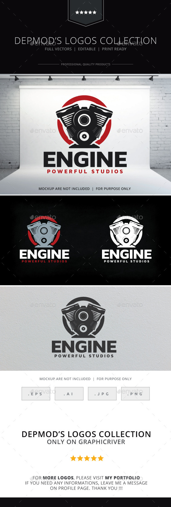 GraphicRiver Engine Logo 9695113