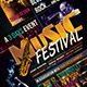 Music Festival Flyer Template V3 - GraphicRiver Item for Sale