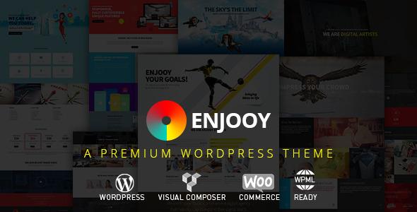 ENJOOY - Responsive Multi-Purpose WordPress Theme - Creative WordPress
